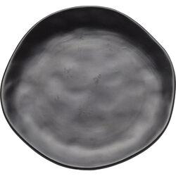 Plate Organic Black Ø20cm