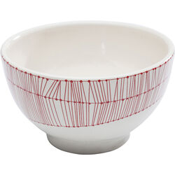 Bowl Net Red Ø14cm