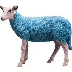 Deco Figurine Sheep Colore Light Blue