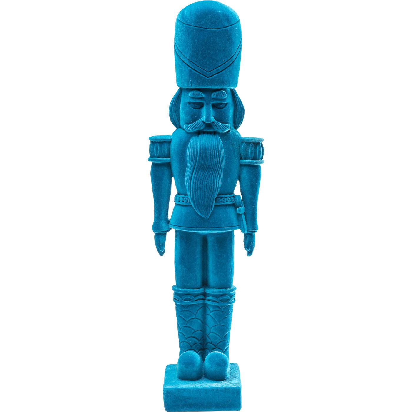 Figurina Decorativa Nutcracker Flock Albastru