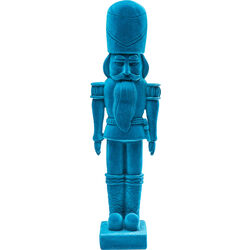 Figura decorativa Nutcracker Flock azul