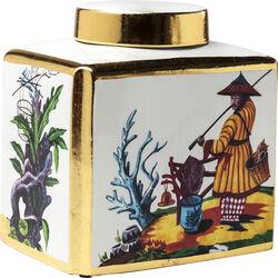 Deco Jar Chinese Garden 35cm