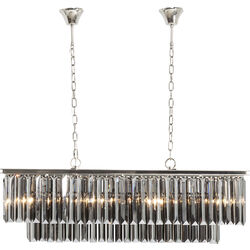 Pendant Lamp Smoky Lounge Rectangular