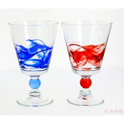 Redwine Glass Aria Blue