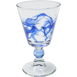 Whitewine Glass Aria Blue