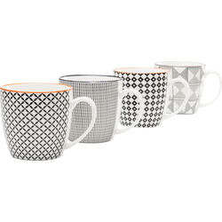 Mug Art Cuisine Black and White Assorted