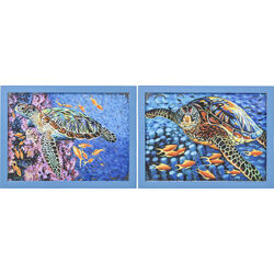 Wall Decoration Sea Turtle 58x76cm  Assorted
