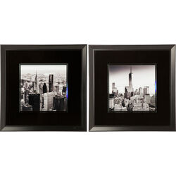Picture Frame NY City View 80x80cm