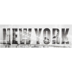 Picture New York Bridge 45x140cm