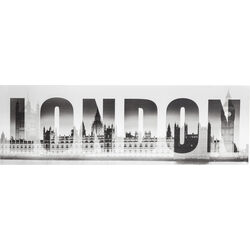Picture London Big Ben 45x140cm