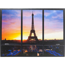 Picture Window Eiffel Tower 95x113cm