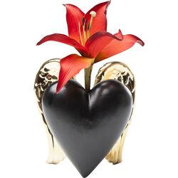 Vase Vase Flying Heart