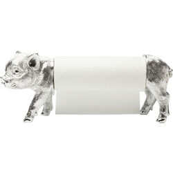 Paper Roll Holder Pig Chrome