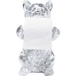 Toilet Paper Holder Bear Chrome