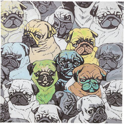 Picture Touched Mops Meeting 100x100cm