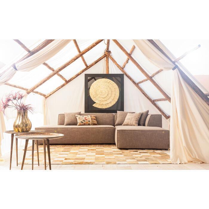 cadre d coratif golden snail 120x120cm kare design. Black Bedroom Furniture Sets. Home Design Ideas