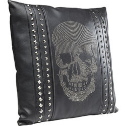 Cushion Crystal Skull 45x45cm
