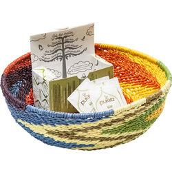Deco Basket Ethno Colore Ø32cm