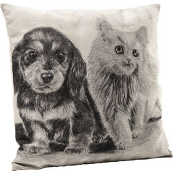 Cojines Little Cat and Dog 45x45cm