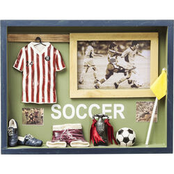 Deco Shadow Box Soccer