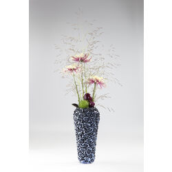 Vase Rose Multi Blue Small