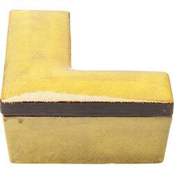 Deco Box Letter L Yellow
