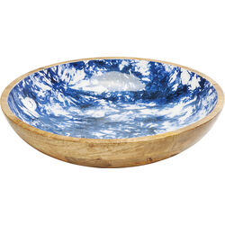 Bowl Blue Explosion Big