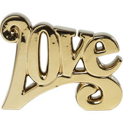 Deco Object LOVE Gold