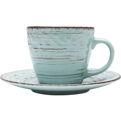 Coffee Cup Desire Turquoise (2/Set)