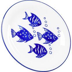 Plate Aquarium Ø22cm