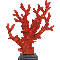 Deco Object Coral Red 34cm