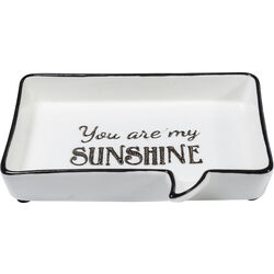 Deco Platter You Are My Sunshine