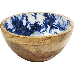 Bowl Blue Explosion
