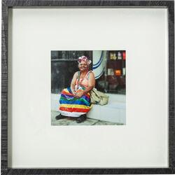 Picture Frame Cuba Life 40x40cm