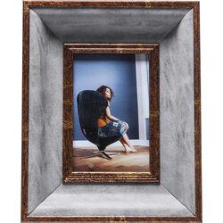Frame Avisio Velvet Grey 10x15cm