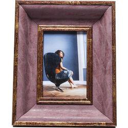 Frame Avisio Velvet Red 10x15cm