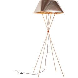 Lámpara de pie Orlando cobre