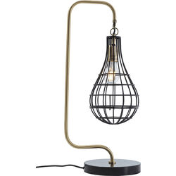 Table Lamp Golden Cage Drop