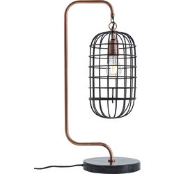 Table Lamp Golden Cage Roll