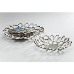 Bowl Mystic Leaf Silver (2/Set)