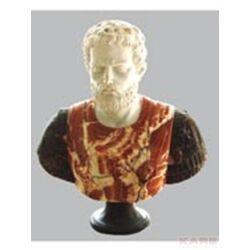 Deco Bust Roman Warrior