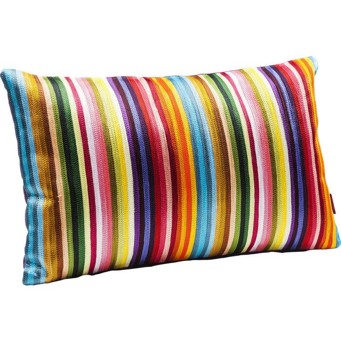 kissen stripes multi colour 30x50cm kare design. Black Bedroom Furniture Sets. Home Design Ideas