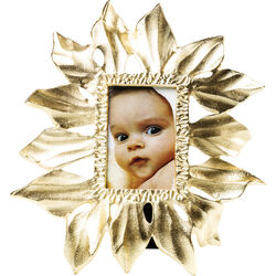 Frame Leaf Gold 10x15cm