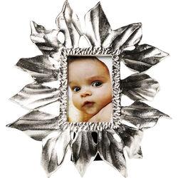 Frame Leaf Silver 10x15cm