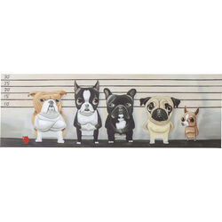 Picture Touch Naughty Dog 50x150cm