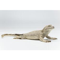 Deco Figurine Lizard Gold Matt Medium