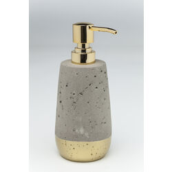 Soap Dispenser Concrete Gold
