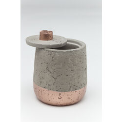 Jar Concrete Copper