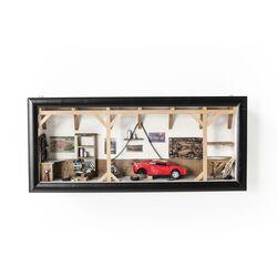 Deco Shadow Box Garage Cabrio