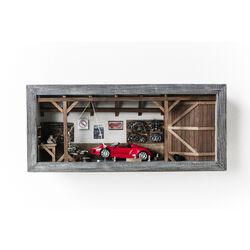 Deco Shadow Box Garage Roadster